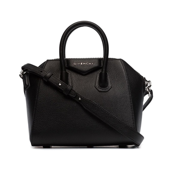 Givenchy Handbags - Givenchy Antigona Mini Black Satchel Crossbody Bag